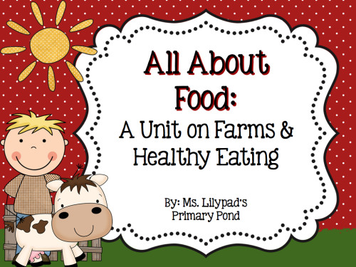 Farm unit for preschool, Kindergarten, or first grade!