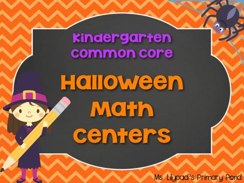 Kinder Halloween Math Centers.001