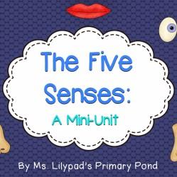 Five Senses Unit:  A smelly good time!