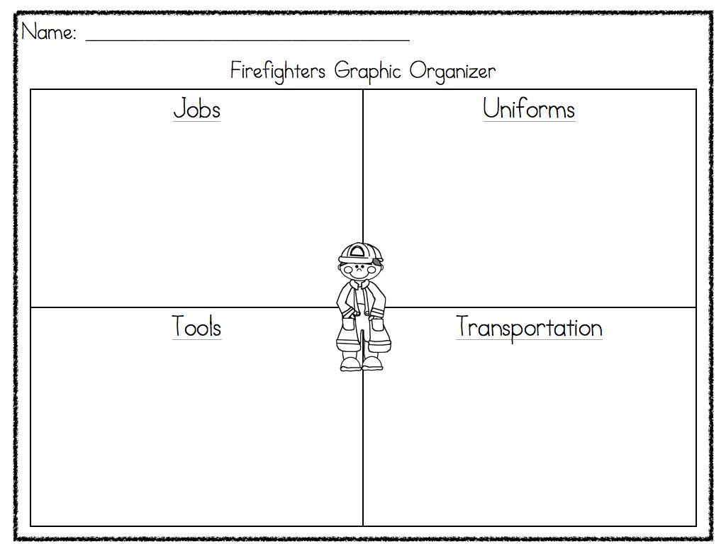 Community Helpers Unit A Funny Learning at the Primary Pond – Community Helpers Worksheet Kindergarten