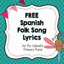Spanish Folk Song Lyrics