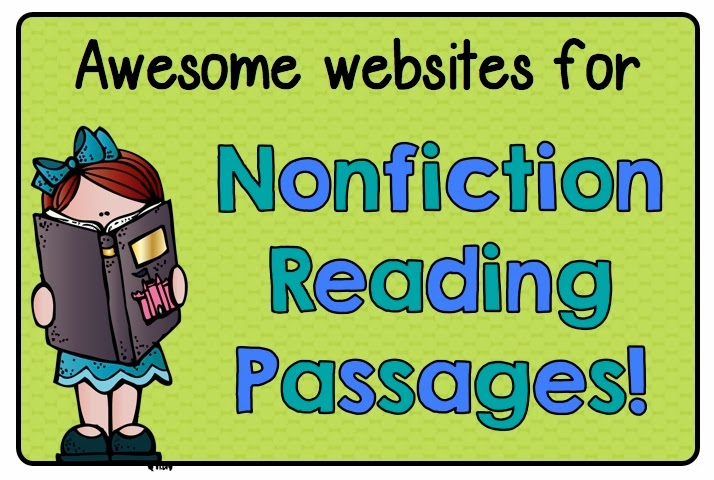 Free Websites For Nonfiction Reading Passages - Learning At The Primary Pond