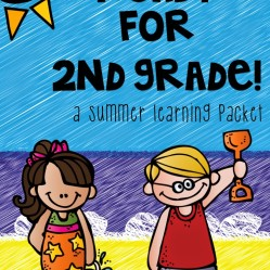 Part Two:  Summer Learning Activities for Rising Second Graders (Summer Homework for First Grade)