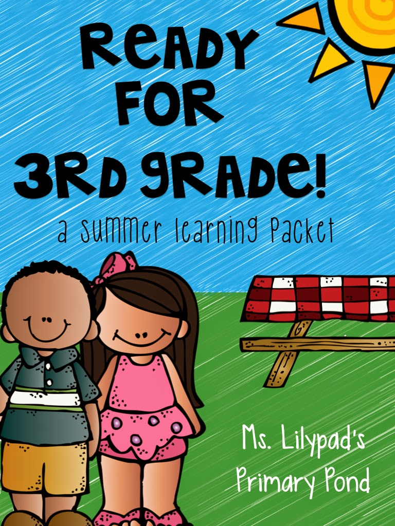 Part Three: Summer Learning Activities for Rising Third Graders (and ...