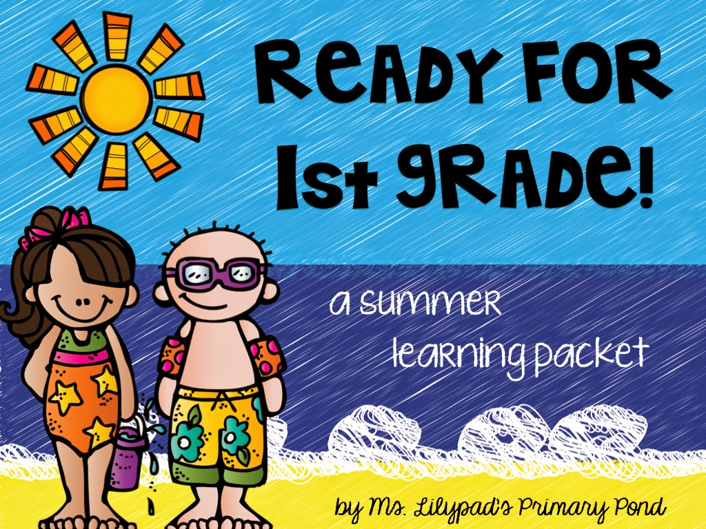 Part One: Summer Learning Activities for Rising First Graders (and ...