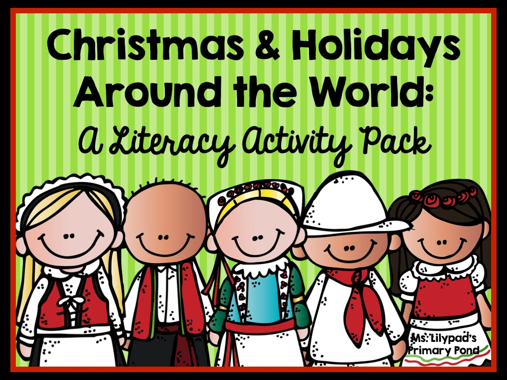 Christmas Around The World Craft Ideas Part - 47: Teaching About Christmas U0026 Holidays Around The World - Learning At The  Primary Pond