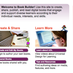 Make Your Own E-Books with UDL Book Builder!