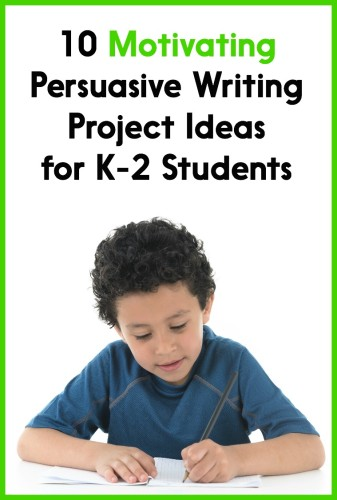 This post has 10 great project ideas to try out in your classroom! Great for opinion writing or persuasive writing in Kindergarten, first, or second grade.