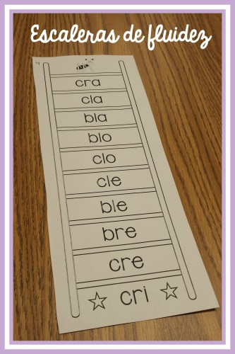 Spanish Syllable Reading Practice