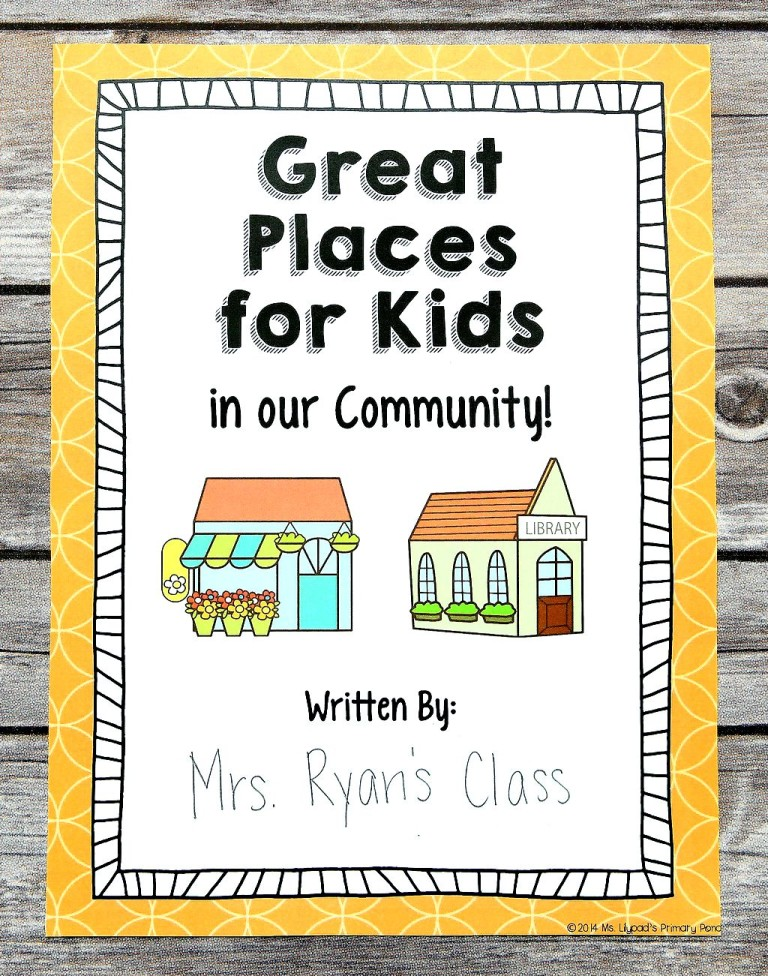writing projects for kids