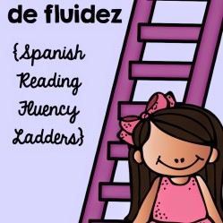 This Week In Intervention:  Spanish Reading Fluency Ladders and Bingo
