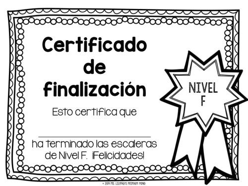 Spanish Fluency Ladders Certificate.001