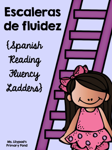 Spanish reading fluency practice ladders