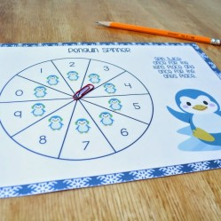 Winter math centers for Kindergarten and 1st