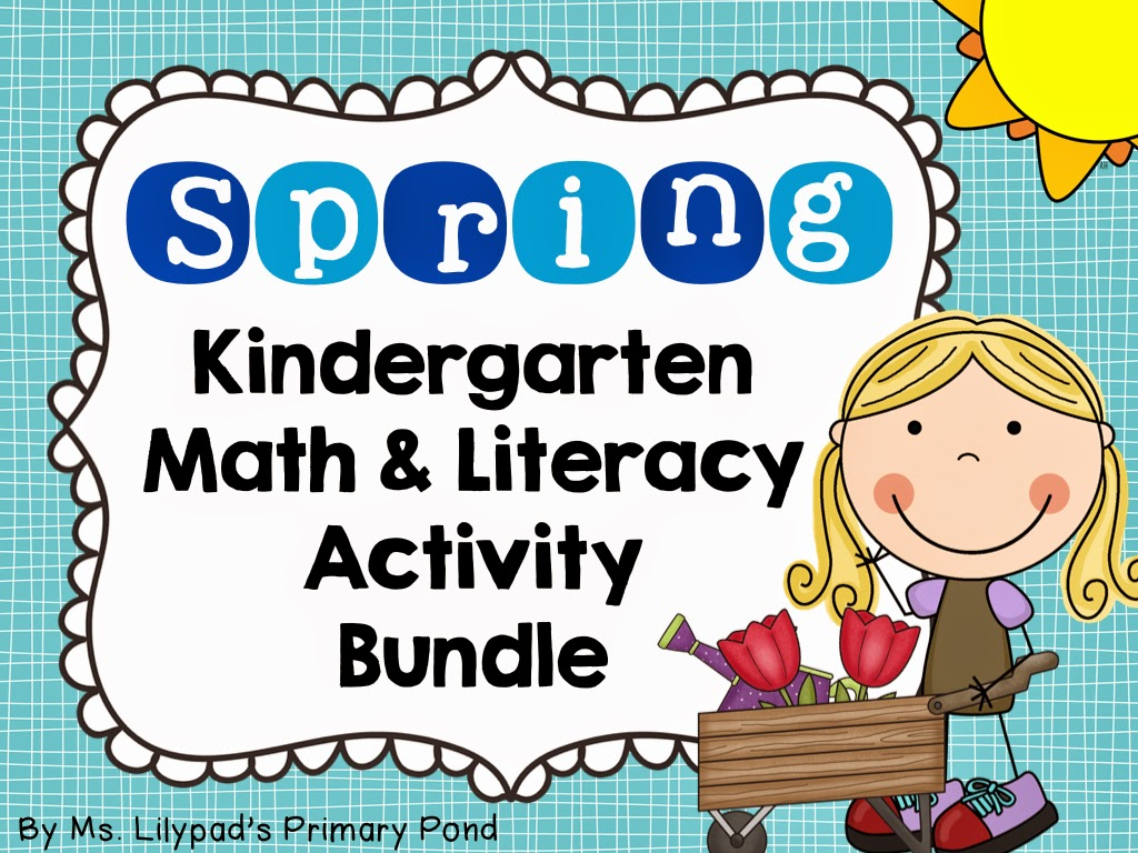 Spring Centers For Kindergarten And First Grade (and A
