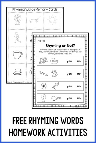 homework help worksheets Kindergarten Worksheets