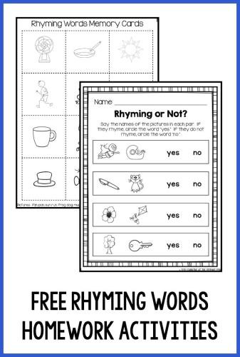 Assigning Kindergarten Homework That Works for ALL Kids