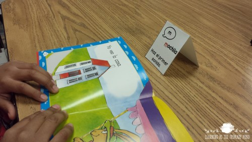 Spanish Reading Strategy Pop Up Card