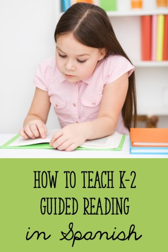 Guided reading is mostly the same in Spanish, but there are a few small changes you should make! Read this post to find out what they are, and download a FREE Guided Reading en Español pack of materials!
