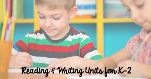 These reading and writing units are clearly laid out for you and have complete plans. They will make planning your literacy instruction SIMPLE!