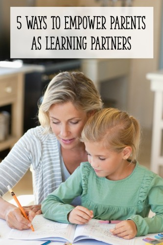 Use these 5 strategies to get parents actively involved in their children's education!