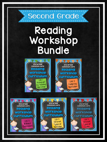Second Grade Reading Workshop Bundle.001