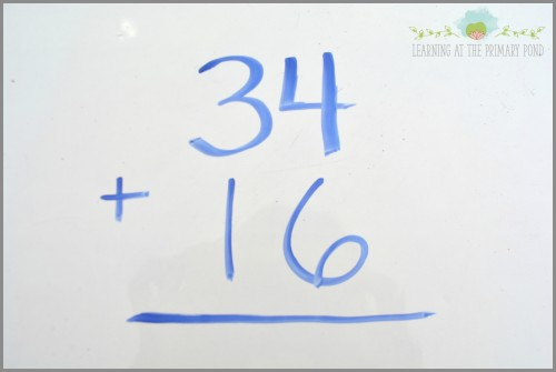 Here's an example of a problem that many second graders  might get wrong.  Read this post to find out how to use Number Talks to develop students' understanding of foundational concepts in math! - Learning At The Primary Pond