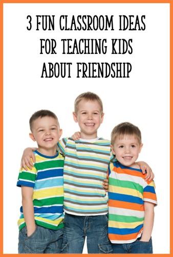 Read this post for 3 classroom activities that will promote friendship and positive social skills! These are perfect for preschool, Kindergarten, or first grade.