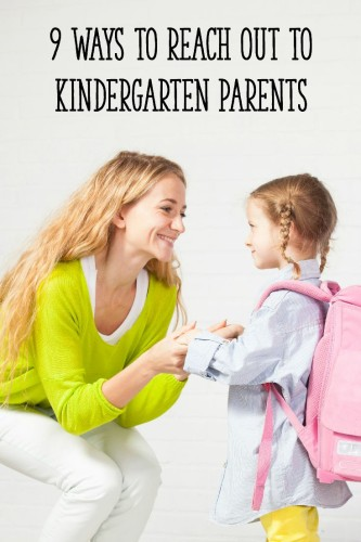 Use these 9 strategies to help Kindergarten parents feel more comfortable and participate in their children's learning!
