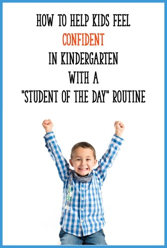 Some kids feel shy and uncertain at the beginning of the Kindergarten. Use this simple routine to help them feel comfortable talking in front of their peers!
