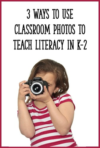Here are 3 ways to use photos of your students and classroom to create engaging reading and writing activities for your students!