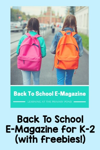 Check out this magazine! It has tons of ideas for back to school, plus a bunch of freebies in one place!