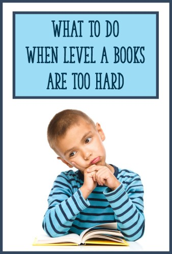 When students can't read Level A texts with 90% accuracy or better, this means that their instructional reading level is below a Level A. To help them be successful with reading leveled books, use these 3 strategies to support your kiddos!
