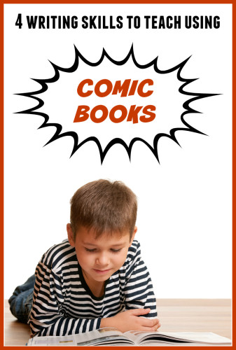 Have you ever thought about using comic books as mentor texts for your 1st and 2nd grade students? This post explains 4 writing skills you can teach using comic books and graphic novels, has some freebies to download, and gives a list of great graphic novels for primary students!