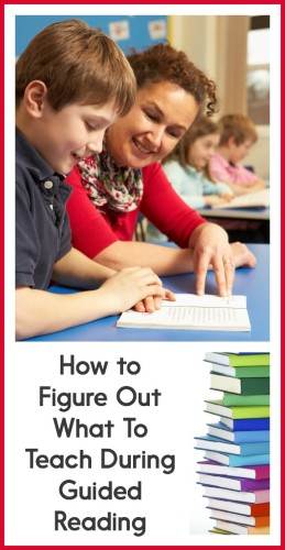There are SO many things that you *could* teach students during guided reading time. How do you know what you should be focusing on? Read this post to find out !