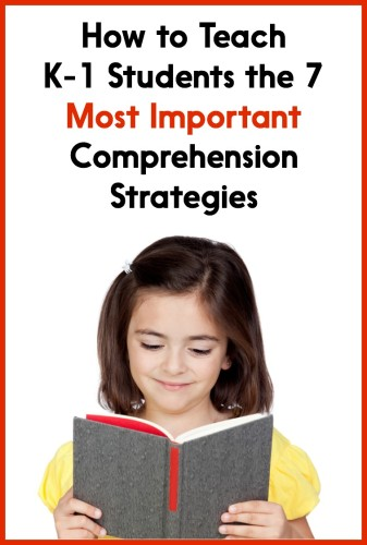 Comprehension reading comprehension strategies for first grade