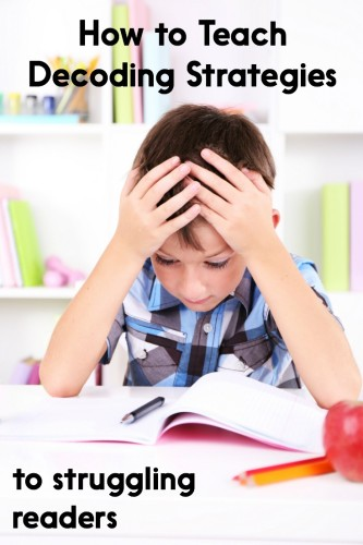 How to Teach Decoding Strategies to Struggling Readers - Learning ...