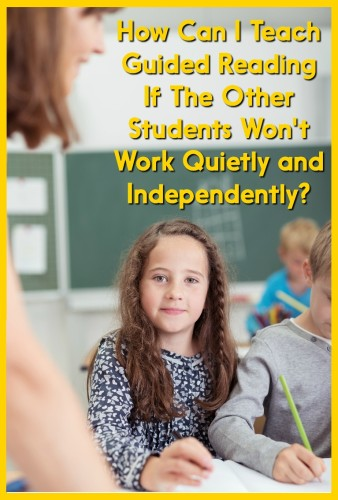 This post has 5 great strategies for getting students to work independently! Perfect for the beginning of the year or any time students are having trouble working independently during guided reading time.