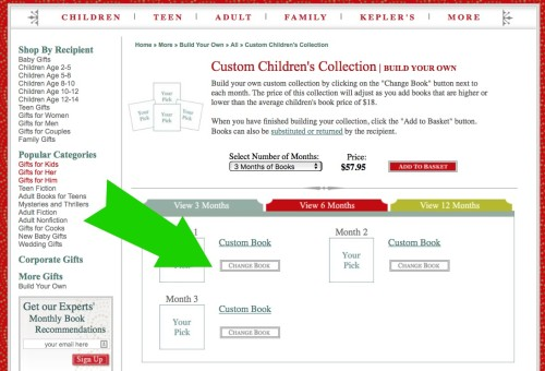 How to use GiftLit to build your own children's book monthly subscription!