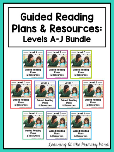 Guided reading lessons and activities for 1st grade