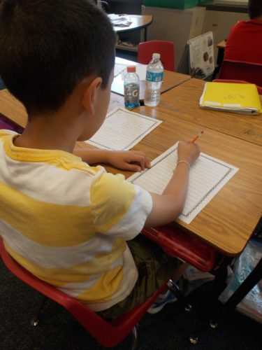 Students NEED lots of choice in their writing topics and writing workshop in order to become independent writers. This post describes how to give students guided choices so that even Kindergarten, first grade, and second grade students can work independently and successfully during workshop time!