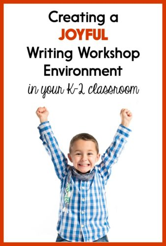 These ideas will help you get your students truly excited about writing workshop at the beginning of the school year - or anytime you need a refresh!
