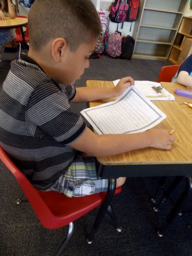 "Most first and second graders show up with a ""writing past"" on the very first day of school. They may have misconceptions about what it means to write, or they may not feel confident in their abilities. On the other hand, they may already love writing and be eager to start a new year! In this post, I explain how I launch my writing workshop in first or second grade - taking into account students' writing pasts, but also setting the tone for a positive and productive writing workshop."