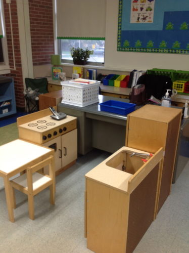This post has some ideas for play-based learning in Kinder or first grade!