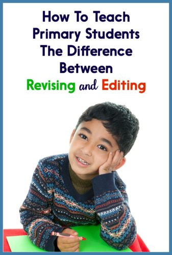 difference between revising and editing essays Understand the difference between revision and editing there is a clear distinction between revising ideas and editing conventions students need to understand the difference so that they know what to do during the two very different stages.