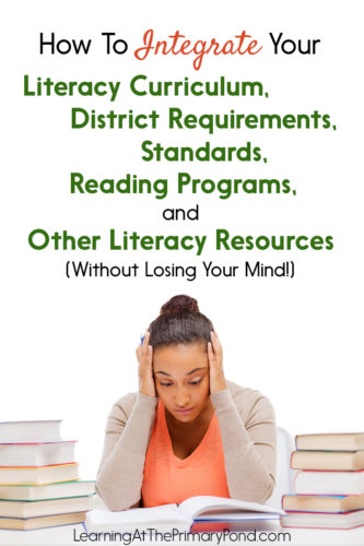 Having trouble fitting everything in? This post explains how to set up your literacy instruction so that you have a firm foundation of effective instruction!
