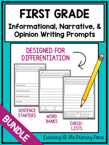 How To Differentiate Writing Instruction In K 2 Learning At The