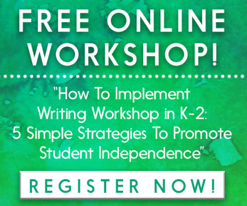 FREE online writing workshop!