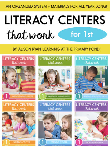 Literacy Centers That Work - Learning at the Primary Pond