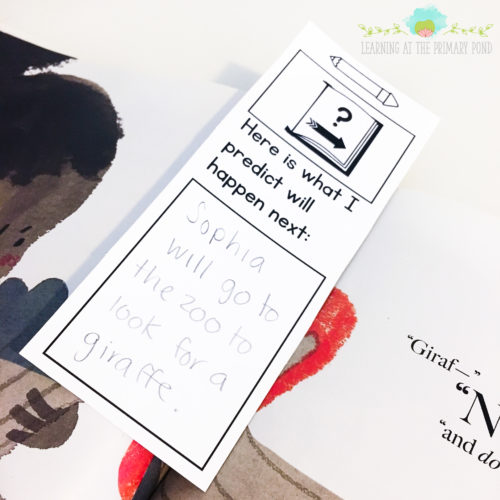 Want to get your students responding during independent reading time? Use interactive bookmarks for a quick, simple response activity! Read the whole blog post for ideas about implementing literacy centers in K-2.